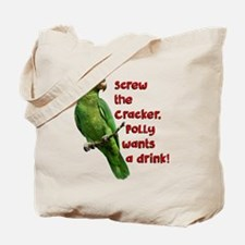Smart Parrot Tote Bag