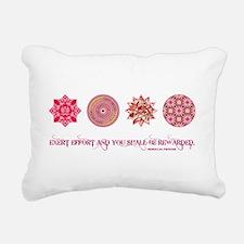 MOROCCAN PROVERB Rectangular Canvas Pillow