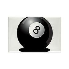 8 Ball! Rectangle Magnet