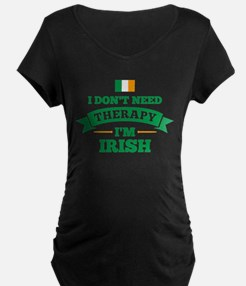 No Therapy I'm Irish T-Shirt