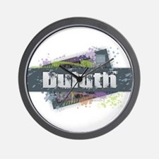 Duluth Design Wall Clock