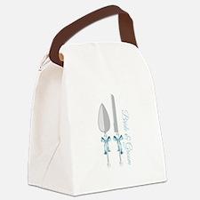 Bride & Groom Canvas Lunch Bag