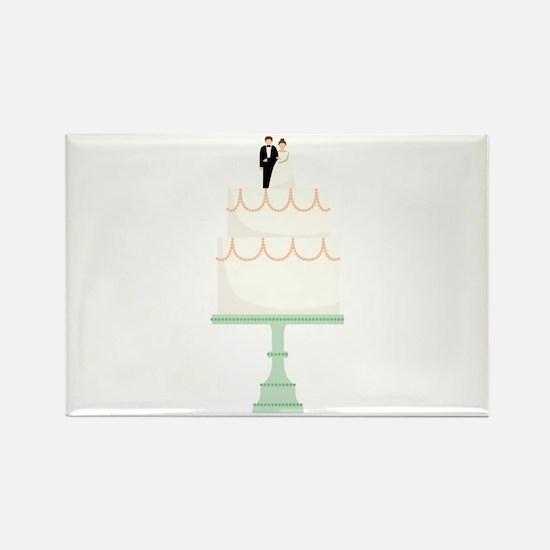 Wedding Cake Magnets