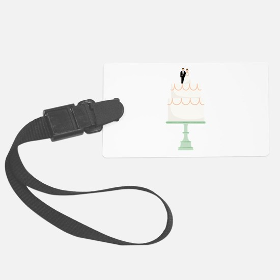 Wedding Cake Luggage Tag