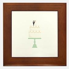 Wedding Cake Framed Tile