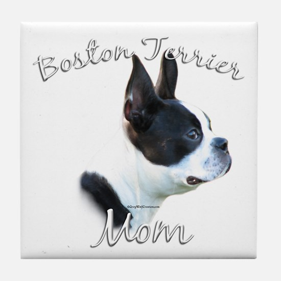 Boston Mom2 Tile Coaster