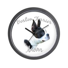 Boston Mom2 Wall Clock