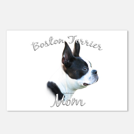 Boston Mom2 Postcards (Package of 8)