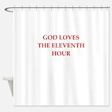 god Shower Curtain