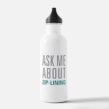 Zip-Lining Water Bottle