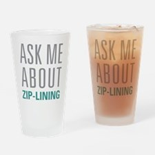 Zip-Lining Drinking Glass