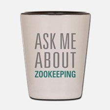 Zookeeping Shot Glass