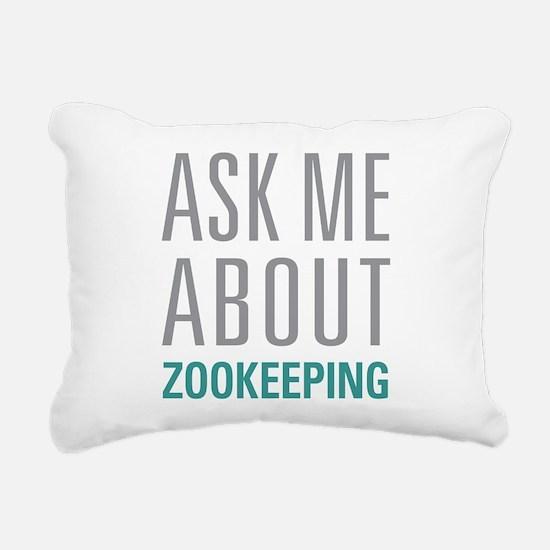 Zookeeping Rectangular Canvas Pillow