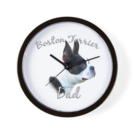 Boston Dad2 Wall Clock