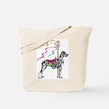 Great Dane Merle UC Carousel Tote Bag