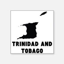 Trinidad and Tobago Silhouette Sticker