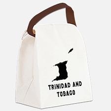 Trinidad and Tobago Silhouette Canvas Lunch Bag