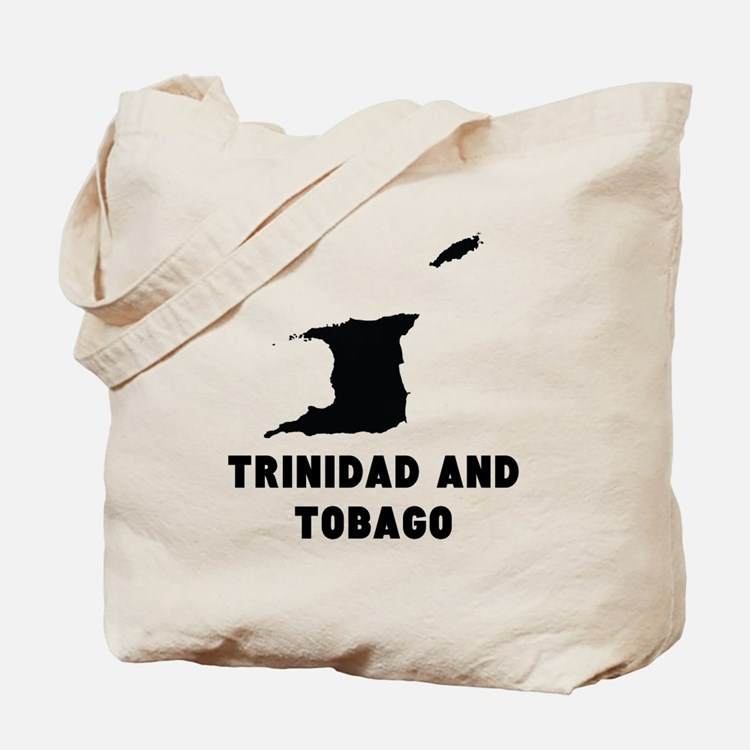 Trinidad and Tobago Silhouette Tote Bag