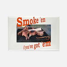 Smoke 'em Rectangle Magnet (100 pack)