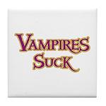 Vampires Suck Halloween costu Tile Coaster
