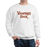 Vampires Suck Halloween costu Sweatshirt