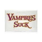 Vampires Suck Halloween costu Rectangle Magnet (10