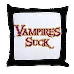 Vampires Suck Halloween costu Throw Pillow