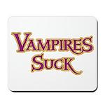 Vampires Suck Halloween costu Mousepad