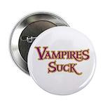 Vampires Suck Halloween costu Button