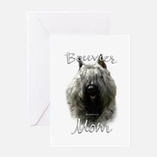 Bouvier Mom2 Greeting Card