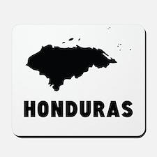 Honduras Silhouette Mousepad