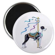 Great Dane Mantle UC Carousel Magnet