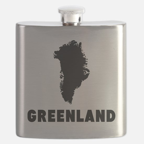 Greenland Silhouette Flask