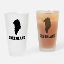 Greenland Silhouette Drinking Glass