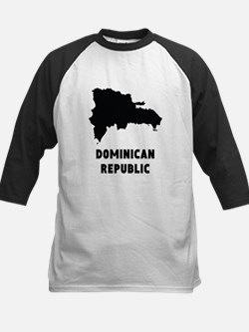 Dominican Republic Silhouette Baseball Jersey