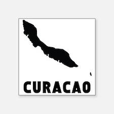 Curacao Silhouette Sticker