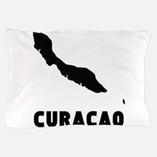 Curacao Silhouette Pillow Case