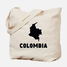 Colombia Silhouette Tote Bag