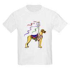 Great Dane Fawn UC Carousel T-Shirt
