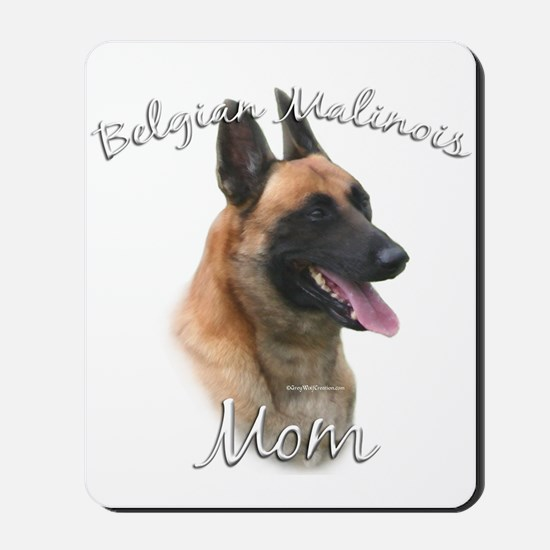 Malinois Mom2 Mousepad