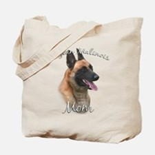 Malinois Mom2 Tote Bag