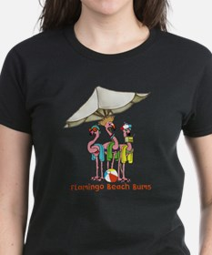 Flamingo Beach Bums T-Shirt