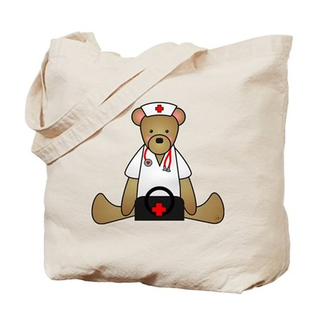 Teddy Bear Medical Tote Bag