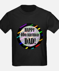 Unique 40th birthday celebration T