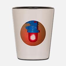 Cool Fire alarm Shot Glass