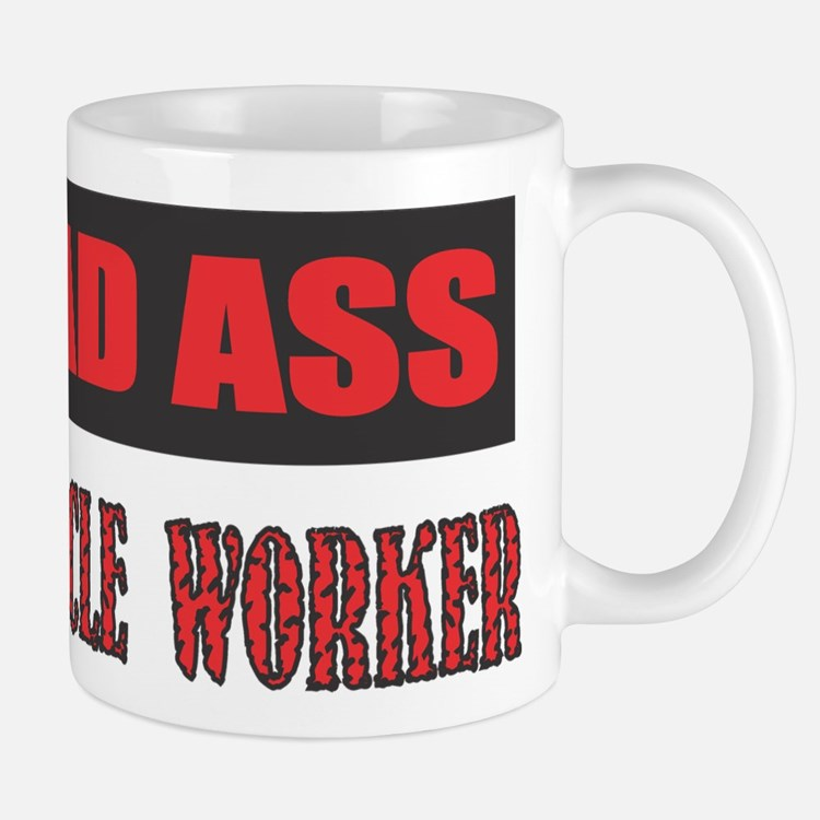 BAD ASS MIRACLE WORKER Mugs