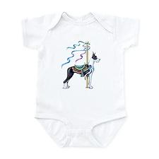 Great Dane Mantle Carousel Infant Bodysuit