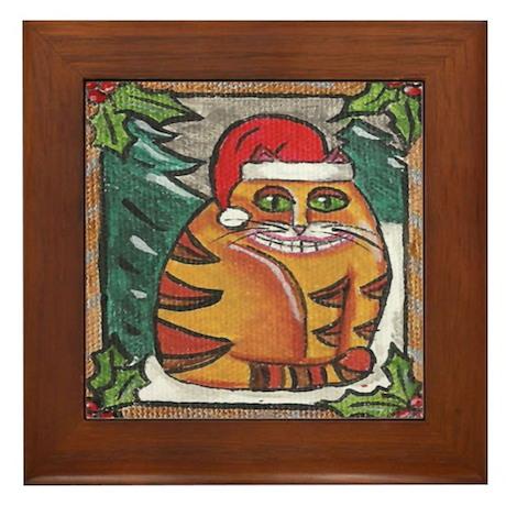 FAt Jack SAnta Framed Tile