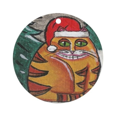 Sandy Claws Ornament (Round)