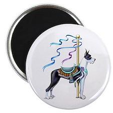Great Dane Mantle Carousel Magnet